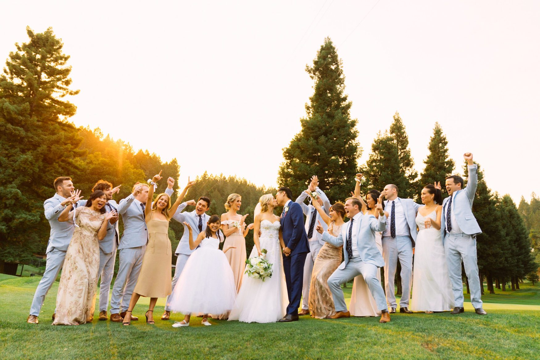 jon chu wedding at meadowood napa in california