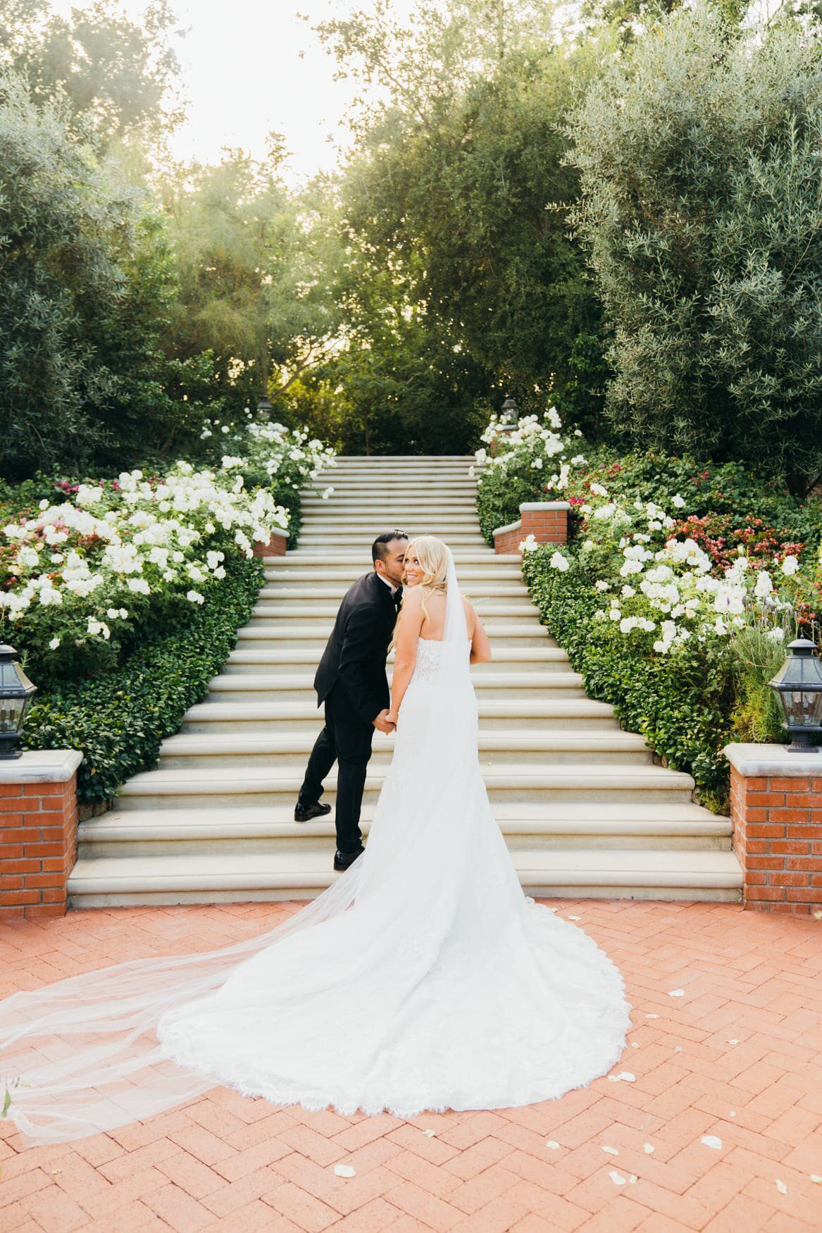 quail ranch wedding ceremony photos
