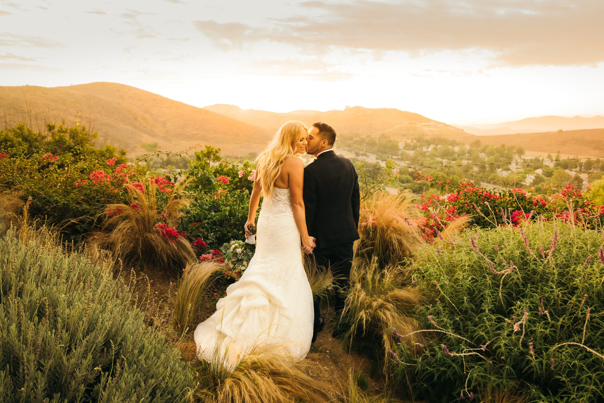 quail ranch wedding photos in simi valley california